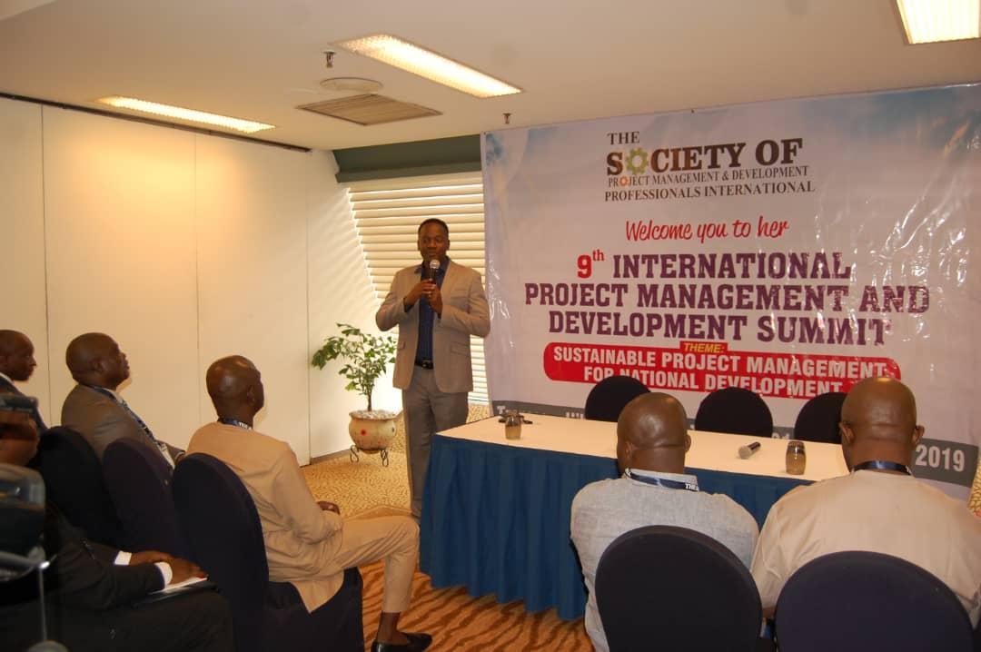 Registrar giving Opening Address at 9th IPMD Summit